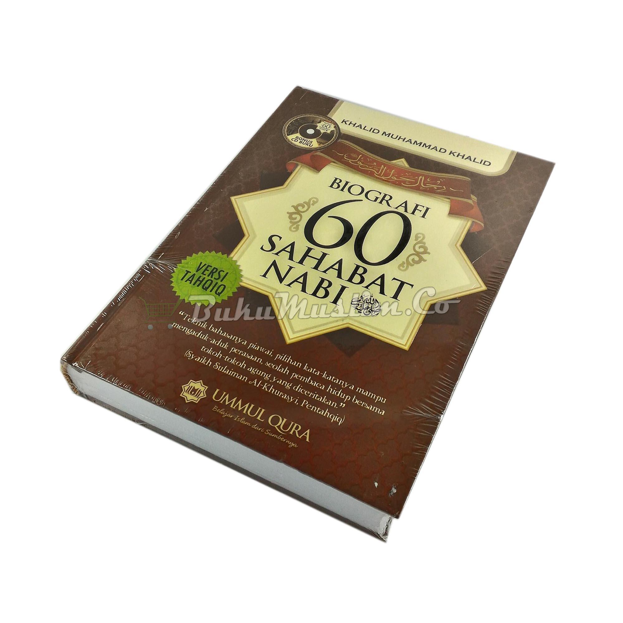 Buku Biografi 60 Sahabat Nabi - BukuMuslim.co
