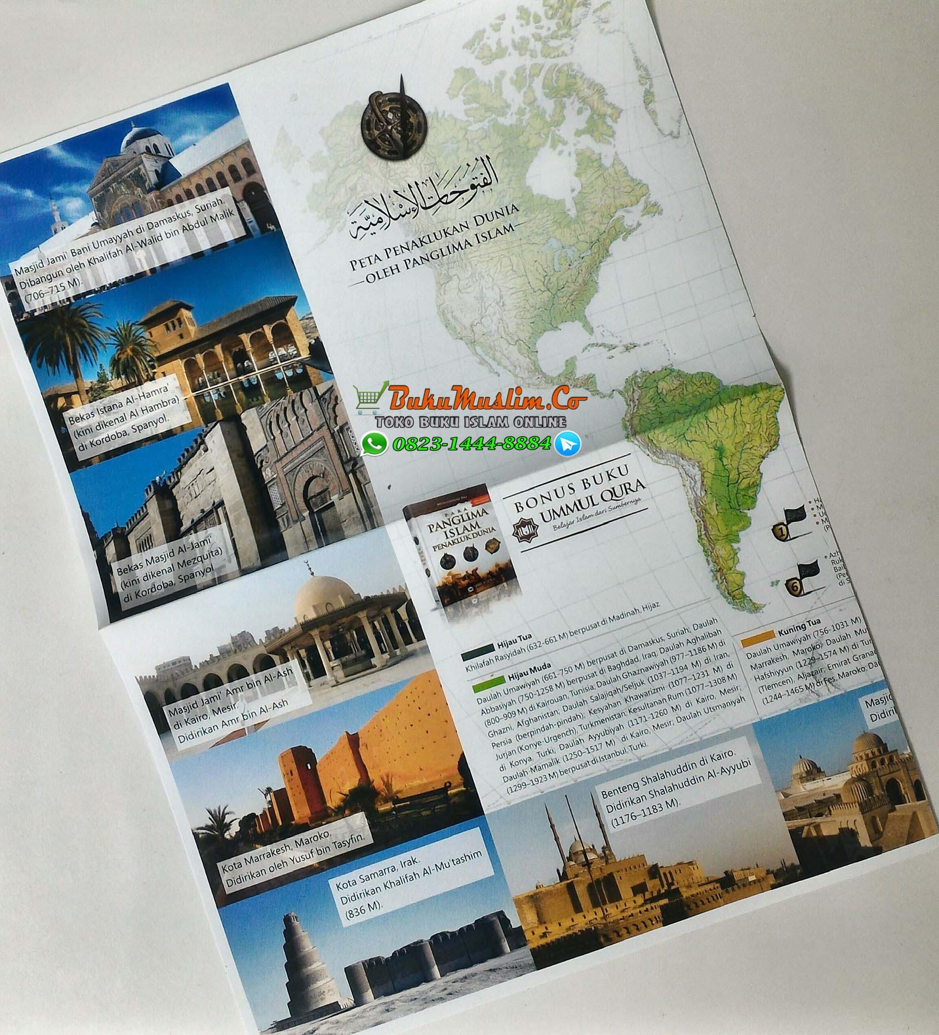 Bonus peta penaklukan dunia oleh panglima islam 1
