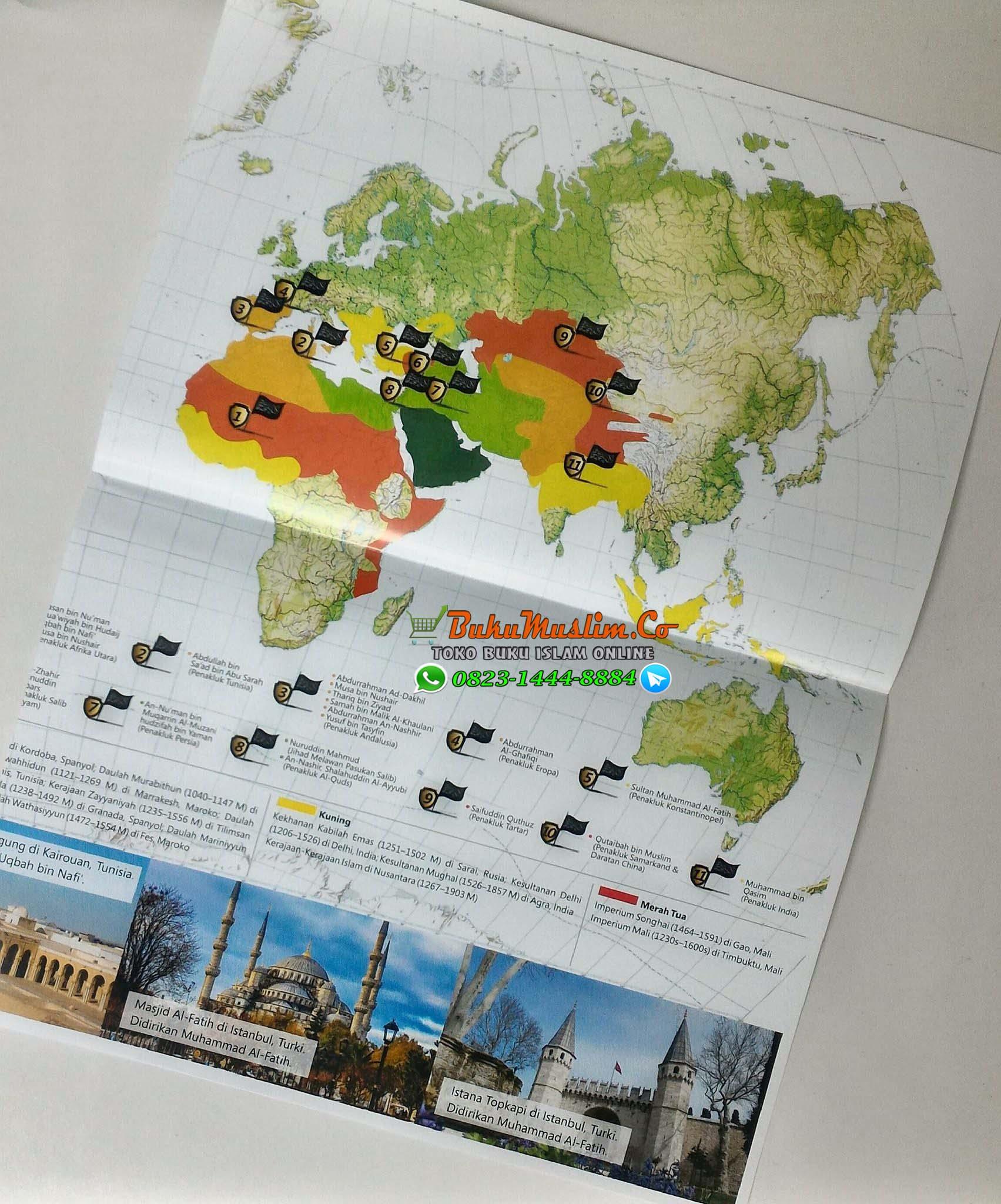 Bonus peta penaklukan dunia oleh panglima islam 2